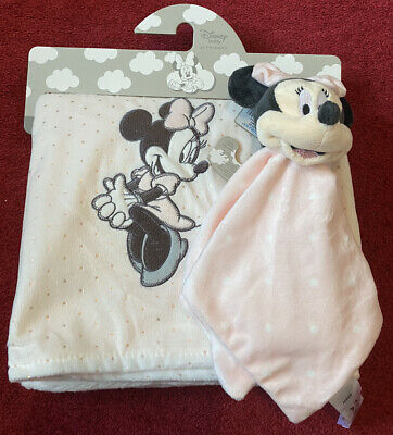 £20 • Buy Disney Baby At Primark Minnie Mouse Set -  Baby  Blanket And Comforter