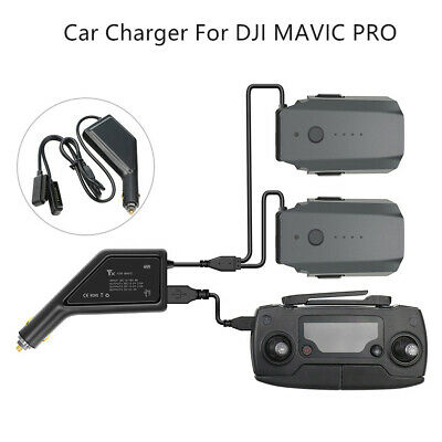 AU33.18 • Buy Intelligent Car Charger Adapter 3 In 1 Battery Charger For DJI Mavic Pro Drone *