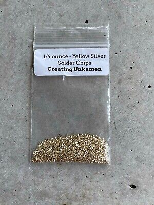 AU33.39 • Buy Yellow Silver Solder +/- 6000 Chips 1/4 Ounce Matched 14k Gold-Filled And Brass