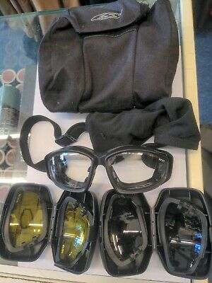 £30 • Buy Genuine British Army Issue ESS V12 Advancer Ballistic Tactical / Assault Goggles
