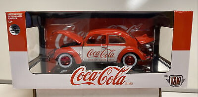 $44.99 • Buy M2 Machines 1:24th Scale Coca-Cola CHASE 1952 VW Beetle Deluxe Model RW04 #500