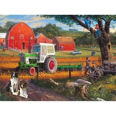 AU17.99 • Buy Diamond Painting 5D DIY Children On The Farm Full Drill Kit Craft Embroidery