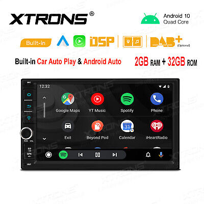 AU247.97 • Buy Universal 7  Android 10.0 Double 2 Din Car Radio Stereo Head Unit GPS Bluetooth