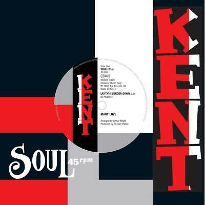 £9.50 • Buy Mary Love - Lay This Burden Down - Kent - Northern Soul Classic 45 - HEAR