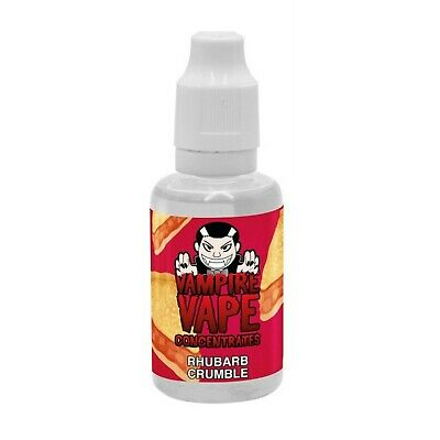 £11.99 • Buy Vampire Vape Rhubarb Crumbl Concentrated Flavour Concentrate For DIY Liquid Mix