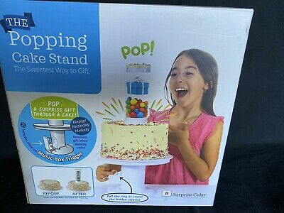 Surprise Cake - Popping Cake Stand - With Music Box Trigger Option EUC • 33.62£