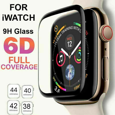 $ CDN3.62 • Buy For Apple Watch IWatch Series 2 3 4 5 6 SE 38/40/42/44mm Glass Screen Protector