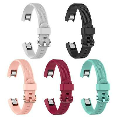 AU3.83 • Buy Silicone Adjustable Watch Band Bracelet Wrist Strap For Fitbit Alta HR S