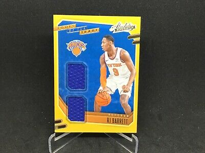 AU12.87 • Buy 2020-21 NBA ABSOLUTE  Rj Barret Rookie TOOLS OF THE TRADE  Jersey