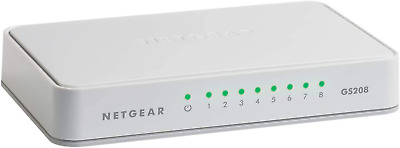 AU31.08 • Buy Netgear 8-Port Gigabit Ethernet Unmanaged Switch Desktop Internet Splitter
