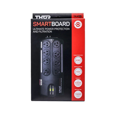 AU279.94 • Buy Thor 8 Outlet Smart Board Ultimate Surge Protected Power Board
