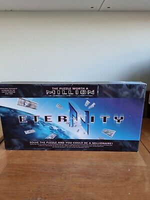 £12.99 • Buy Eternity The Puzzle Worth A Million Board Game 100% Complete.