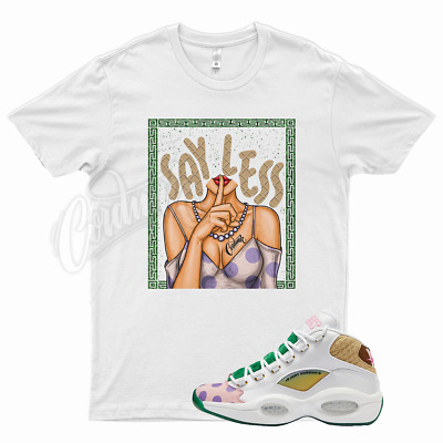 $26.99 • Buy White SHHH T Shirt For Reebok Mid Question Candyland Candy Land Kamikaze Balvin