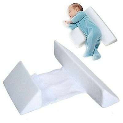 £11.99 • Buy Adjustable Baby Side Sleep Pillow Support Wedge Infant Newborn Anti-roll Cushion