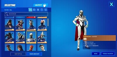 $ CDN150 • Buy Og Stacked 50+skins(with Exclusive Xbox EON Skin!!!!!!)