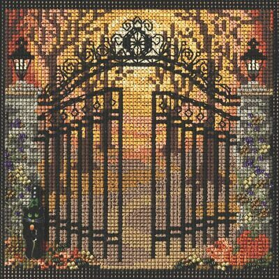 $12.99 • Buy Mill Hill 2021 Autumn Series Buttons & Beads Cross Stitch Kit ~ Spooky Gate ~