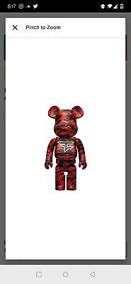 $720 • Buy Bearbrick Faze Clan 1000%