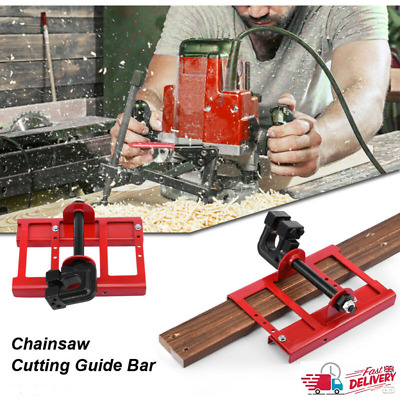 £36.25 • Buy Mini Adjustable Steel Saw Chainsaw Mill Lumber Wood Cutting Guide Open Frame UK