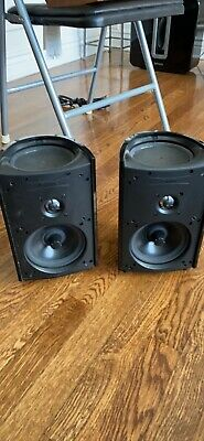 AU225.78 • Buy Definitive Technology ProMonitor 1000 Speakers (Pair) - Black