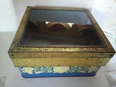 £35 • Buy Victorian Large Shop Biscuit Tin ( William Crawford & Sons Ltd)