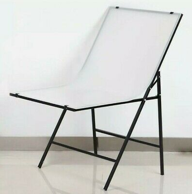 Foldable Shooting Table 60x100cm - Photographic Studio White Background Product  • 25£