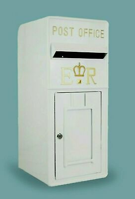 £30 • Buy Royal Mail Post Box ER II Cast Iron Post Office Letter Box - Hire Only