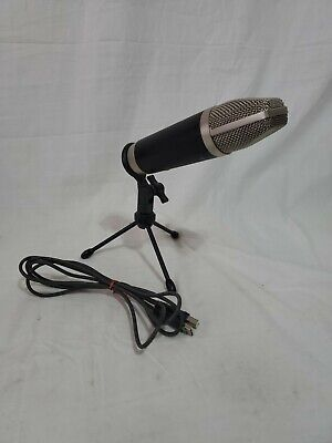 $54.99 • Buy M-Audio Producer USD With Stand And Cord Condenser Microphone Used Lot#1437
