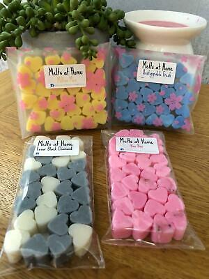 £2.95 • Buy Wax Melts 30x Mini Hearts, Very Highly Scented, Soy Wax, Inspired Fragrances