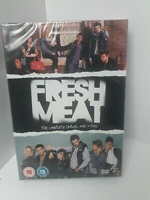 £8.80 • Buy Fresh Meat - Series 1 And 2 - Complete (DVD, 2013, 2-Disc Set, Box Set)