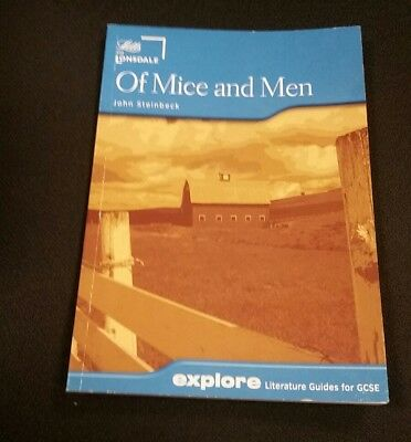 Letts Explore Of Mice And Men - John Steinbeck - A Literature Guide For GCSE • 3.99£