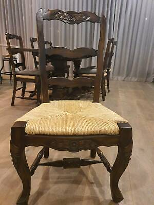 AU300 • Buy 8 Hamptons Style Solid Wood Dining Chairs