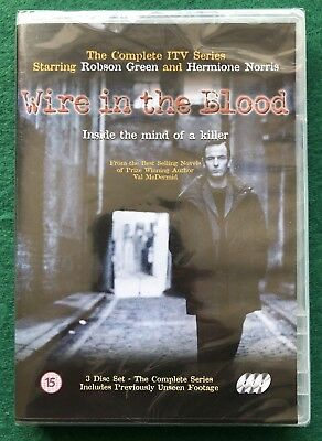 £9.99 • Buy Wire In The Blood 3-Disc Set DVD