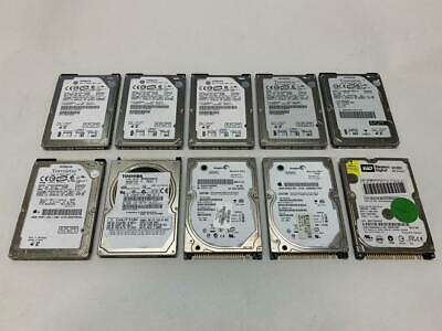 $ CDN99.95 • Buy Lot Of 10 X 80gb 2.5  Ide Laptop Hard Drive Various Brand (no Bad Sector)