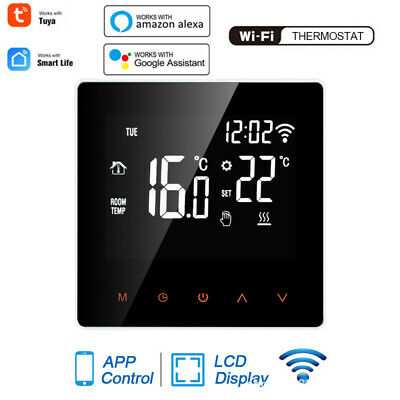AU57.69 • Buy For Electric Floor Heating LCD WiFi Smart Thermostat Temperature Controller Tuya