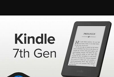 £53.99 • Buy Amazon Kindle 7th Generation 4GB 6  Wi-Fi E-reader - Black WP63GW
