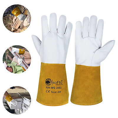 £6.99 • Buy Welding Tig Gloves   Mig Gloves Cow Leather Wing Thumb Extra Pulse ASK-WG-2032