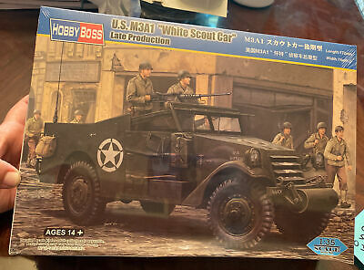 $34.19 • Buy HobbyBoss 1/35 Scale U.S. M3A1  White Scout Car  Late Production - Kit#82452