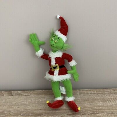 £14.99 • Buy The Grinch Soft Toy Nanco 2000 How The Grinch Stole Christmas Vintage