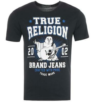 True Religion Buddha Star Logo T-Shirt - Black • 19.65£