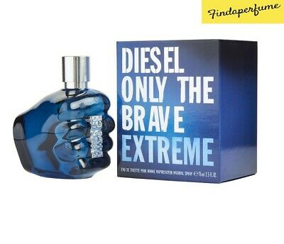 £37.99 • Buy Diesel Only The Brave Extreme Eau De Toilette 75ml Spray Authentic New Boxed