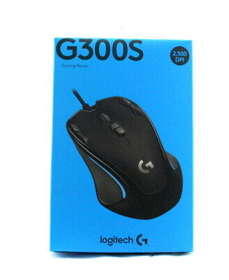 AU35 • Buy Logitech Optical Gaming Mouse - G300S - Brand New Sealed