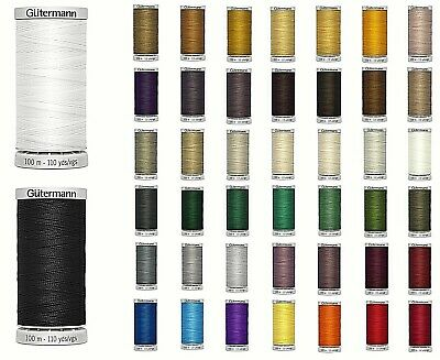 £4.25 • Buy GUTERMANN EXTRA STRONG THREAD 100M HAND & MACHINE/UPHOLSTERY SEWING-Various Col