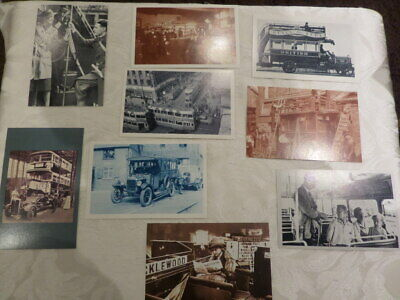 £4 • Buy 9  NOSTALGIA POSTCARDS - Featuring BUSES