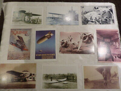 £4 • Buy 10  NOSTALGIA POSTCARDS - Featuring AIRCRAFT / PLANES