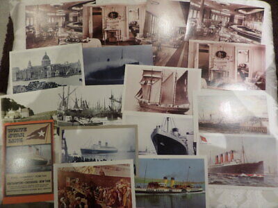 £4 • Buy 17 NOSTALGIA POSTCARDS - Featuring BOATS, SHIPS And LINERS