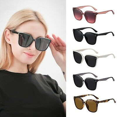 £5.99 • Buy Oversized Square Sunglasses For Women Mens UV400 Protection Driving Outdoor