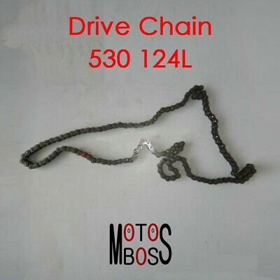 AU122.42 • Buy Motorcycle Drive Chain 530H-124L O-ring Johnny Pag Hunter(Australia)