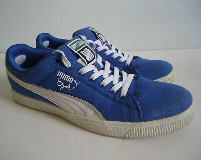 Mens Blue PUMA X UNDEFEATED / UNDFTD 'Clyde' Trainers - Size 9 UK - Used • 12£