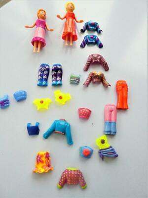 £12 • Buy Polly Pocket Magnetic Dolls With Magnetic Clothes