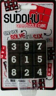 SUDOKU ON A PUZZLE CUBE - Ages 5 And Up - Educational Maths Puzzle Game • 4.99£
